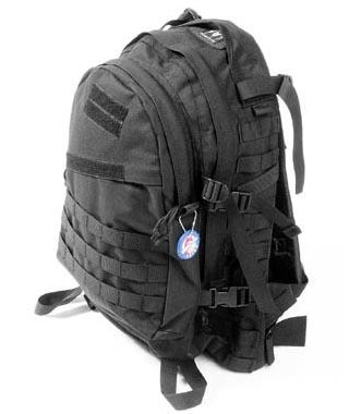 AIII style 3-Day MOLLE Backpack - Black