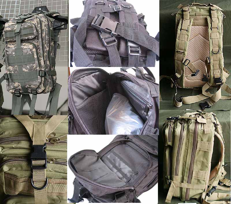 MOLLE 3P Assault Backpack – ACU