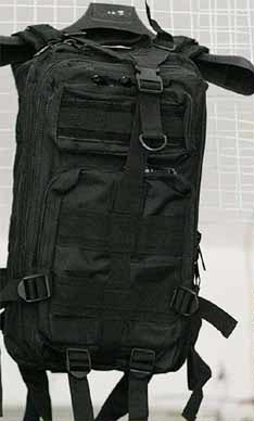 MOLLE 3P Assault Backpack – Black