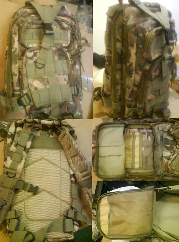 MOLLE 3P Assault Backpack – Multicam MC