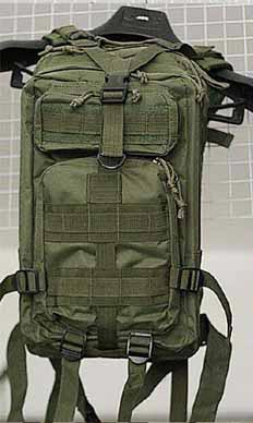 MOLLE 3P Assault Backpack – OD