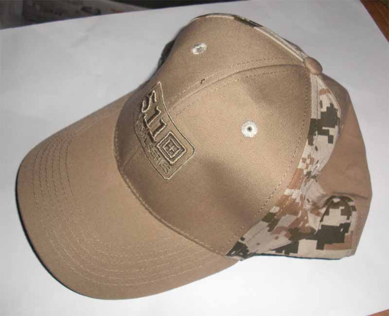5.11 Style Tactical Baseball Cap - Brown Digital Camo