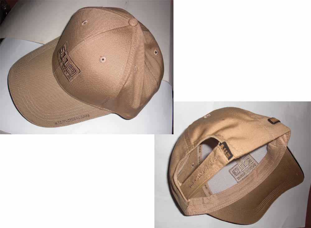 5.11 Style Tactical Baseball Cap - Brown