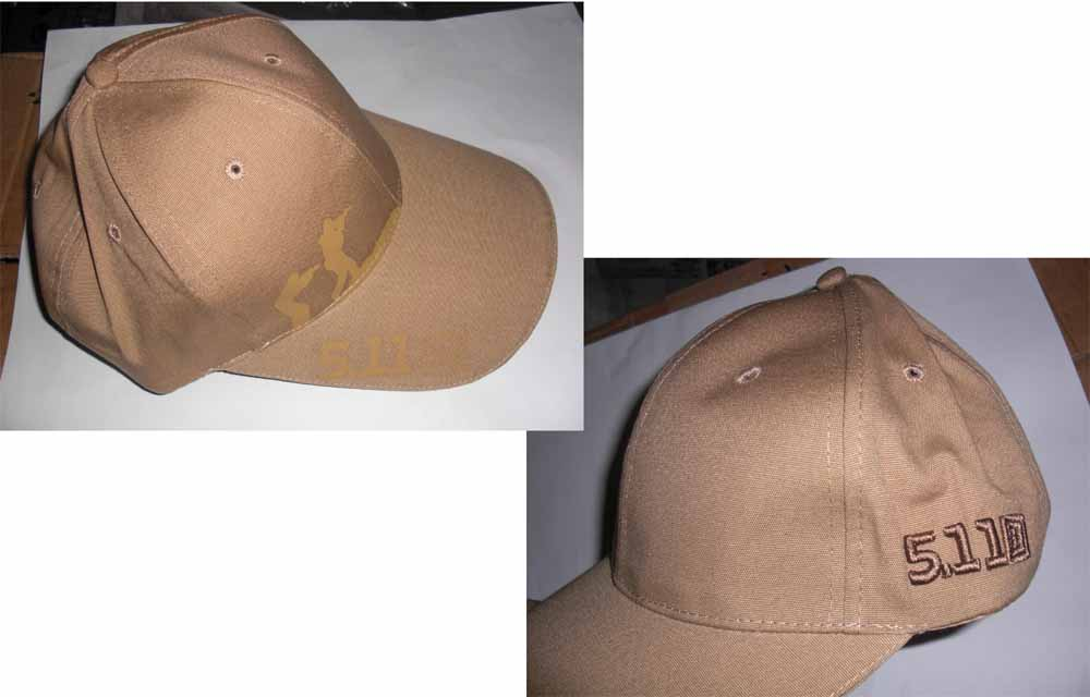 5.11 Style Tactical Baseball Cap - Brown Shooting