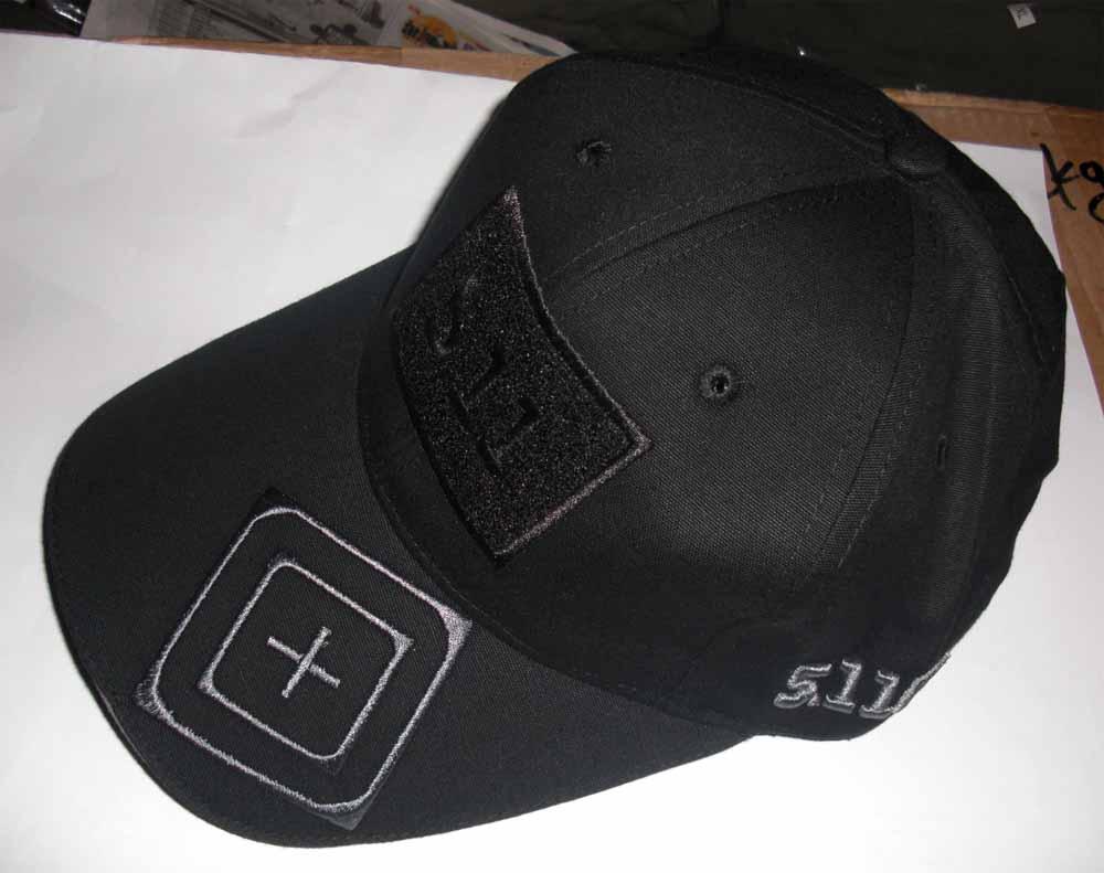 5.11 Style Tactical Baseball Cap - Black Target b3521385fde