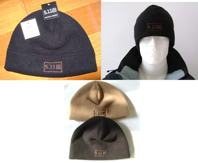 5.11 Style Wool Fleece Hat - Black
