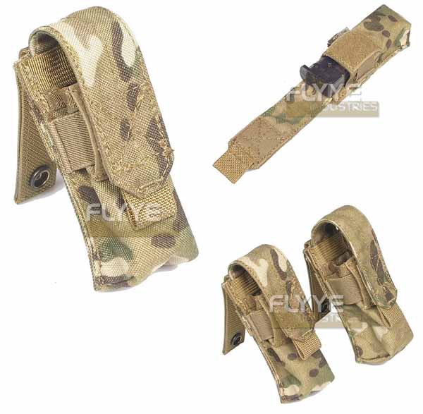 FLYYE Single 9mm Mag MOLLE Pouch Ver.FE - MultiCam®