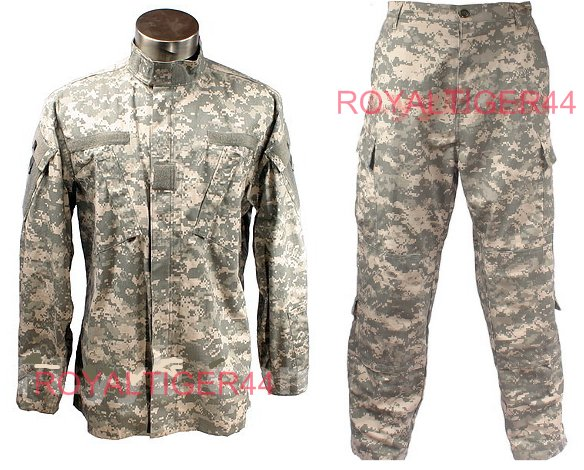 US Army - ACU Shirt Pants set