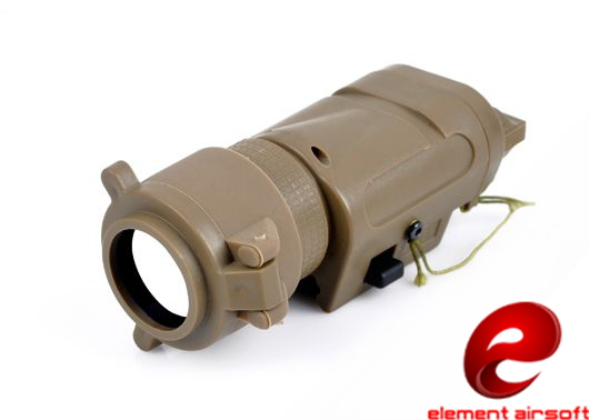 Element M3X Tactical Light Illuminator / Infrared I/R Filter  - Short Version EX185 - Dark Earth
