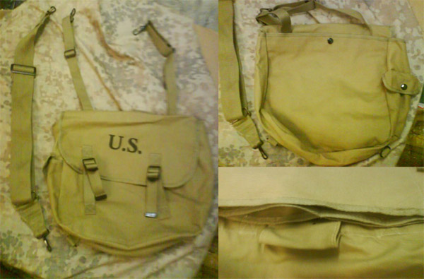 WW2 US Army M1936 M36 Musette Pack Bag