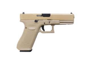 WE GLOCK17 GEN5 Slide GBB Gas Pistol - Tan
