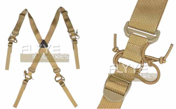 FLYYE X Belt Gear Suspenders