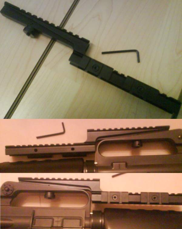 Rail - 15C Gear for M4 / M16 / XM177