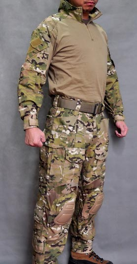 ALLWIN Multicam MC GEN3 Combat Shirt Pants with Pads