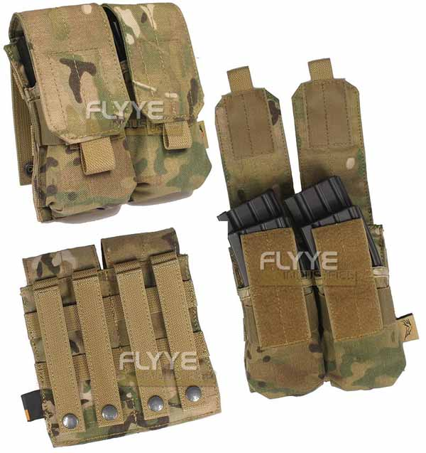 FLYYE Double M4 Mag MOLLE Pouch for 4 Mag. - MultiCam®