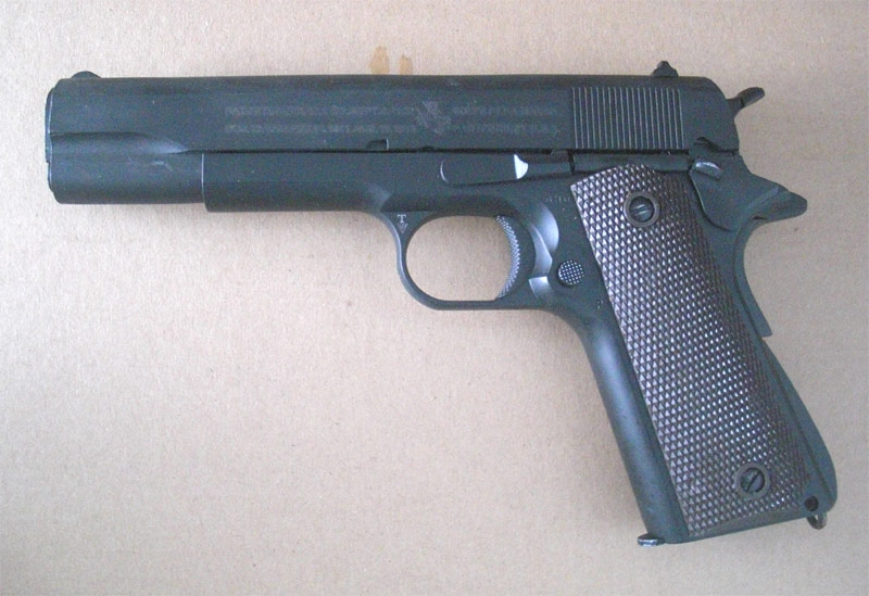 BELL M1911A1 Colt Government Metal GBB Pistol
