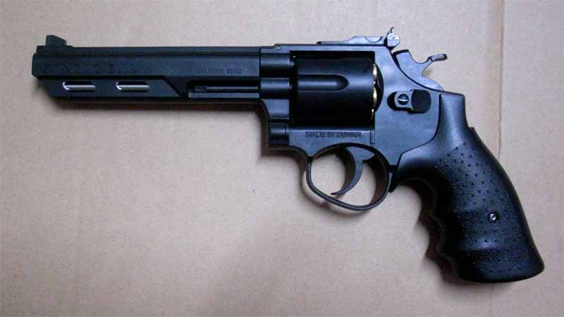 "HFC HG-133 - 6"" Barrel Gas Revolver - Black"