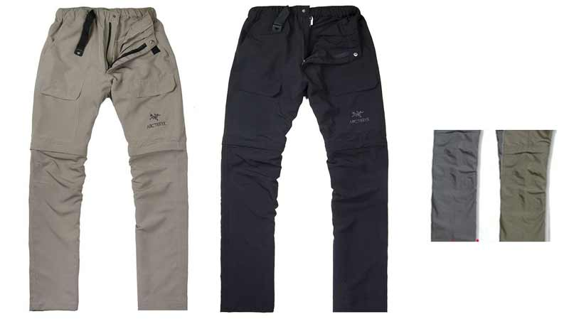 Arc Style 2-ways Pants / Shorts  - Black