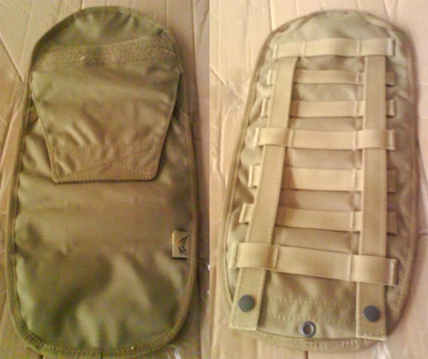 FLYYE Armor Chassis / MOLLE Vest Hydration Backpack - AOR1 , AOR2