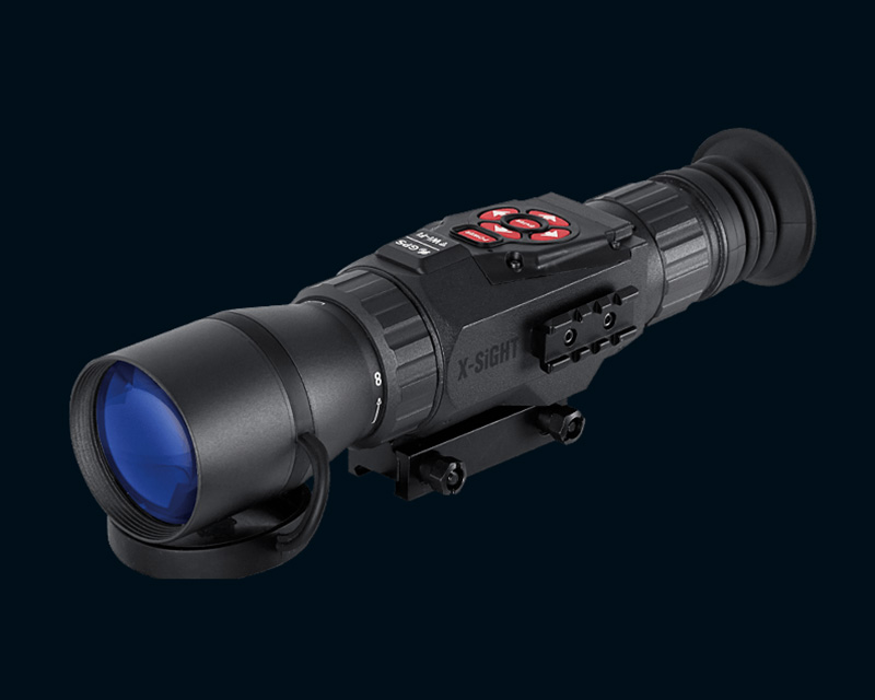 ATN ATN X-SIGHT HD 5-18x Smart Day& Night Rifle Scope – 1080p Video / Night Mode / WiFi /GPS /