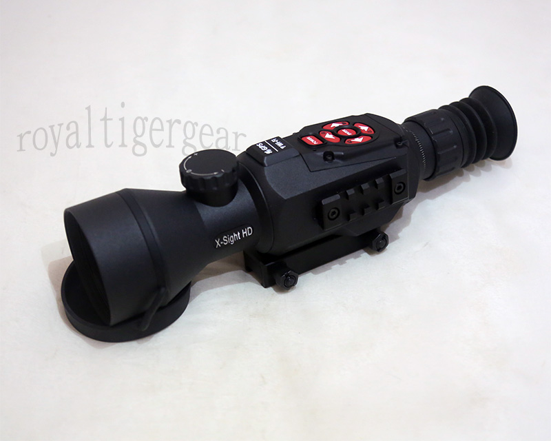 ATN X-SIGHT II HD 3-14x Smart Day & Night Vision Rifle Scope - 1080p Video / Night Mode / WiFi /