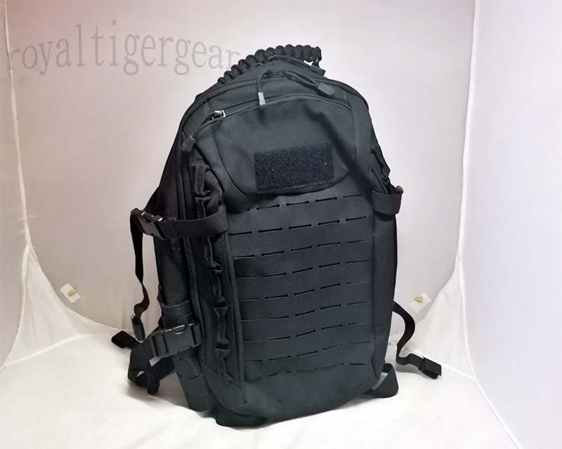 Tactical MOLLE Backpack -Black