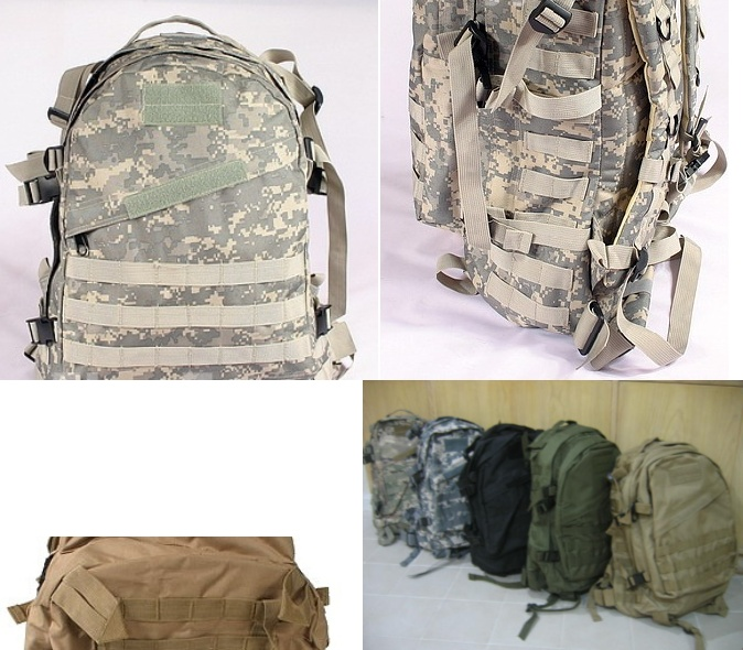 AIII style 3-Day MOLLE Backpack - ACU