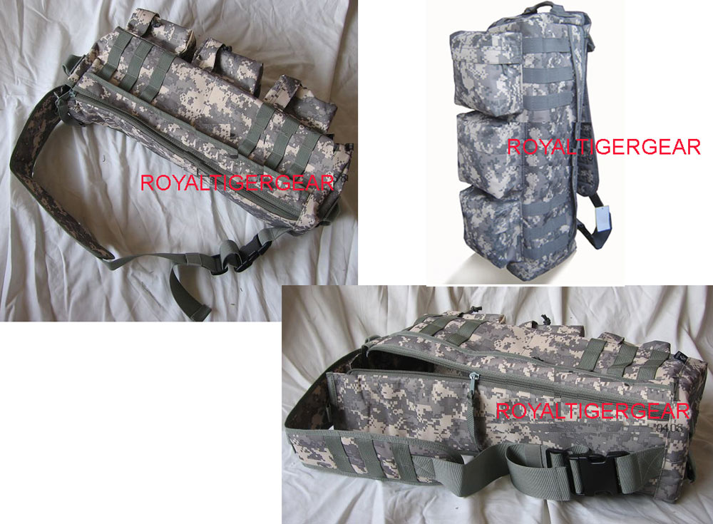 Assault Tactical Go Bag MOLLE Shoulder Pack - ACU
