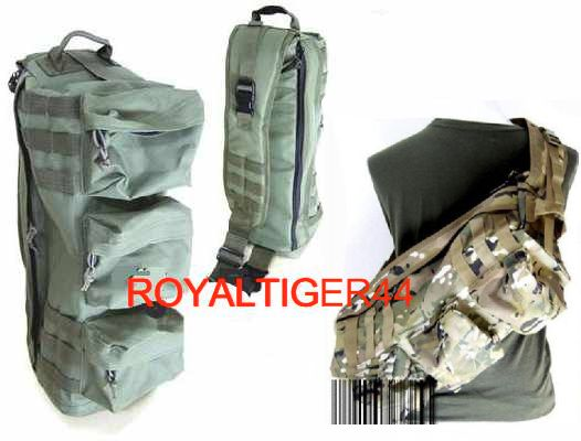 Assault Tactical Go Bag MOLLE Shoulder Pack - Multicam MC
