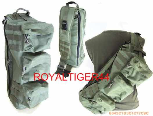 Assault Tactical Go Bag MOLLE Shoulder Pack - OD