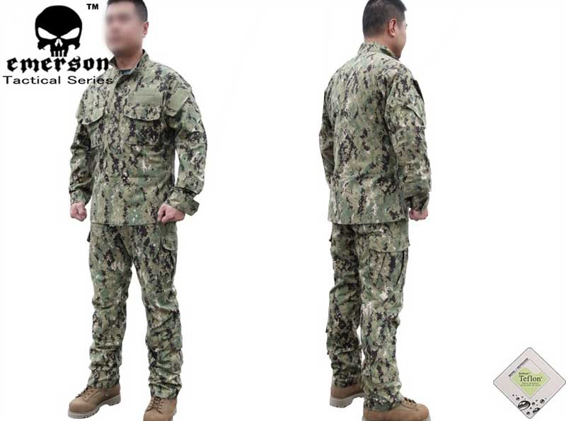 EMERSON AOR2 Camo Shirt Pants set – US Navy Seal