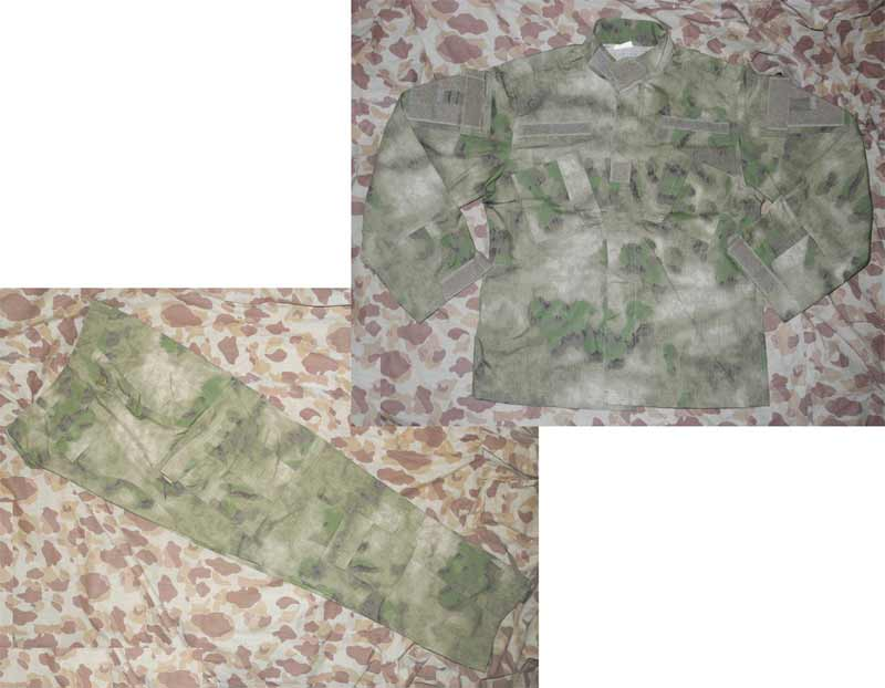 A-TACS FG Camo Shirt Pants Set