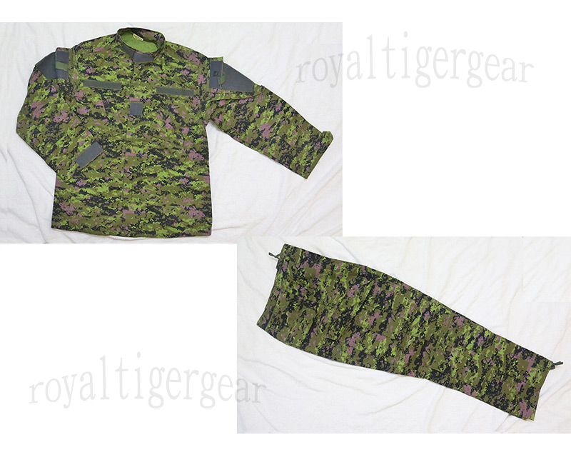 Canadian Canada Army CADPAT Digital Woodland Camo Shirt Pants set