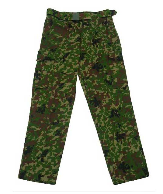 Japan Ground Self-Defense Force JGSDF ARMY SPECKLED Woodland Camo Pants