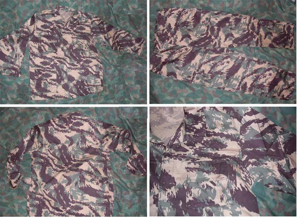 Afghanistan Northern Alliance Style Lizard Pattern Camo BDU