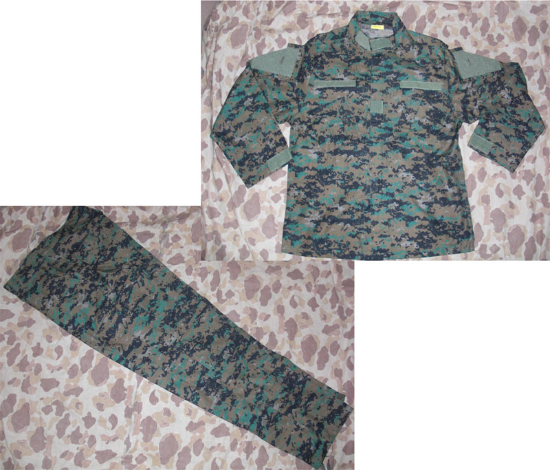 USMC MARPAT Digital Woodland Shirt Pants set - ACU style