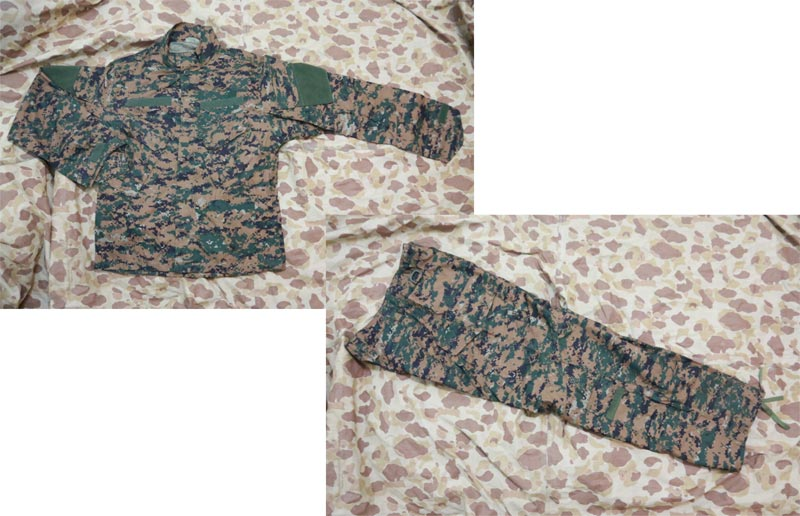 USMC MARPAT Digital Woodland Shirt Pants set - CP style
