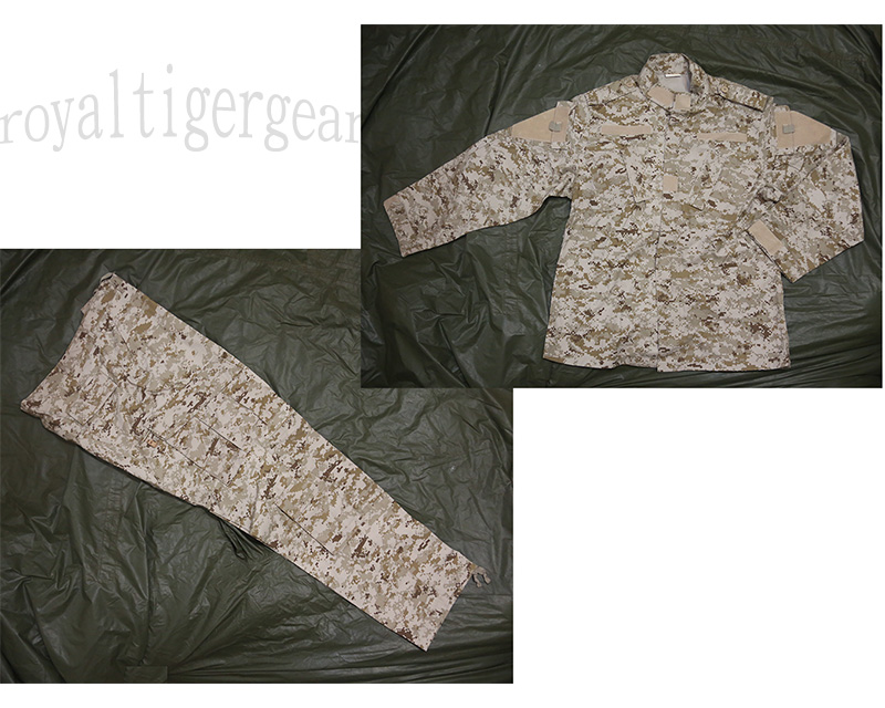 USMC MARPAT Digital Desert Shirt Pants set – ACU style