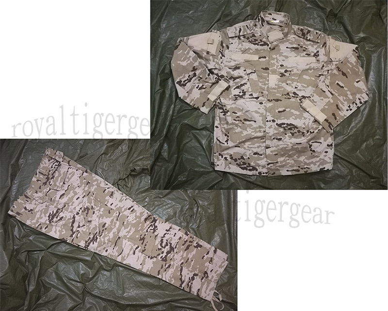 Spain Spanish Army Desert Digital Camo Uniform Shirt Pants – Iraq Army