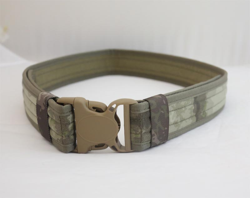 Tactical Duty Belt - A-TACS - CORDURA
