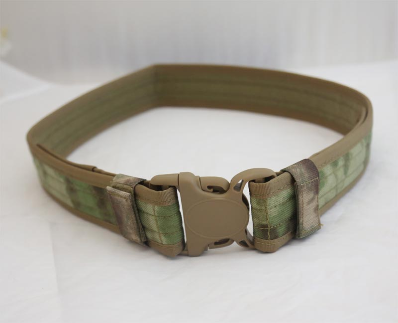 Tactical Duty Belt - A-TACS/FG - CORDURA