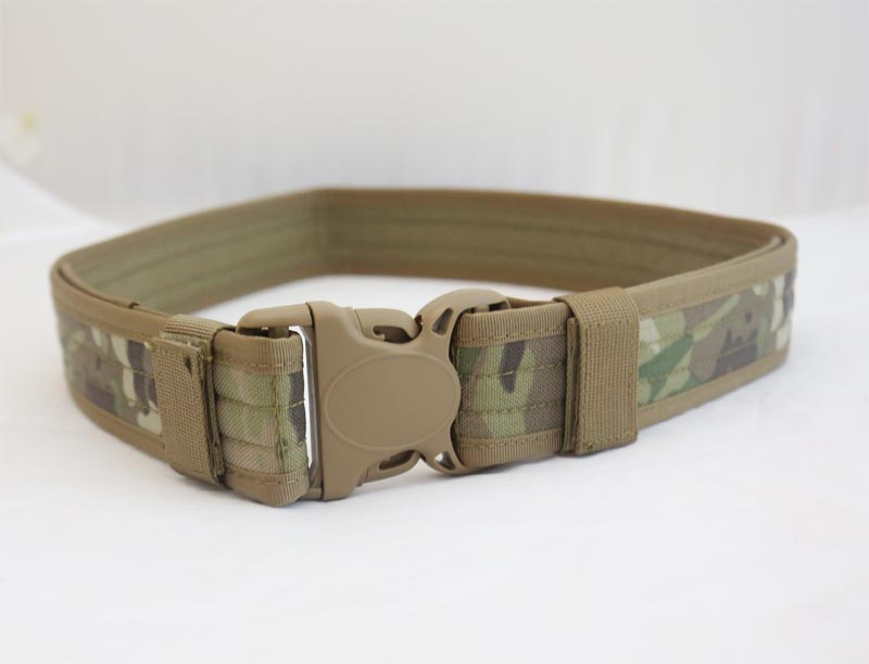Tactical Duty Belt - Multicam - CORDURA