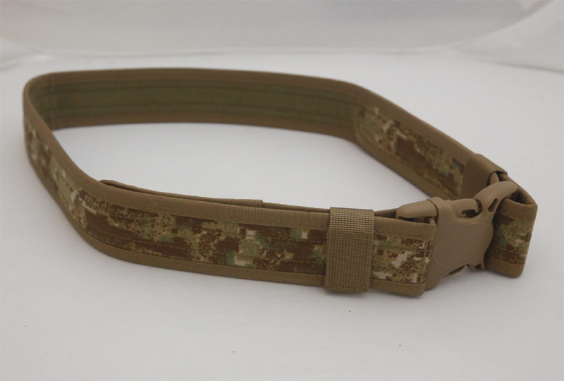 Tactical Duty Belt - Dot Highland Camo - CORDURA