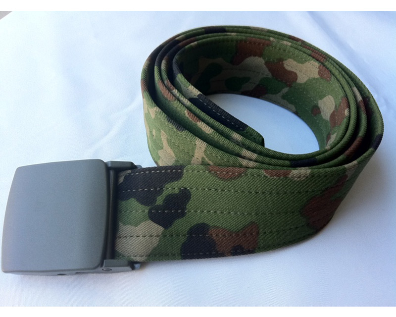 Japan Ground Self-Defense Force JGSDF Army SPECKLED Woodland Camo Belt