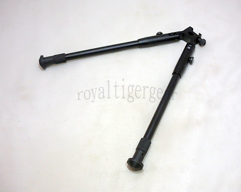 10 3/4 – 14 Inch Adjustable Folding Rifle Bipod – fits 20mm Picatinny Rail