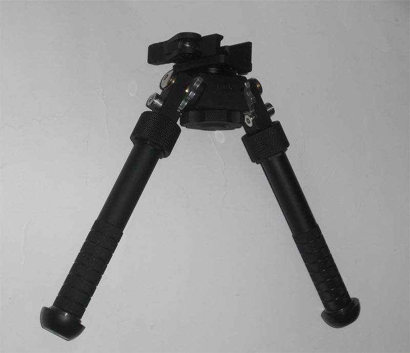 BT10 V8 Rail Bipod – Quick Release QD Mount – Adjustable Length