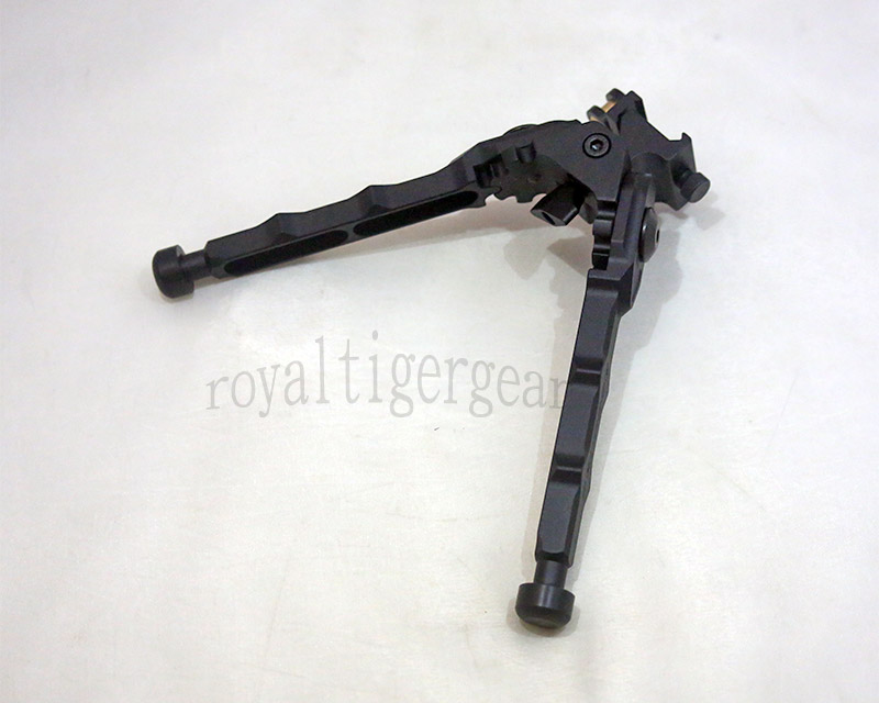 BR-4 Pivot Folding Rifle Bipod – 6 1/4 inch - QD Quick Detach 20mm Picatinny Rail
