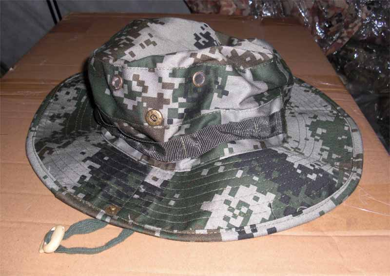 China PLA Type 07 Digital Universal Camo Boonie Hat