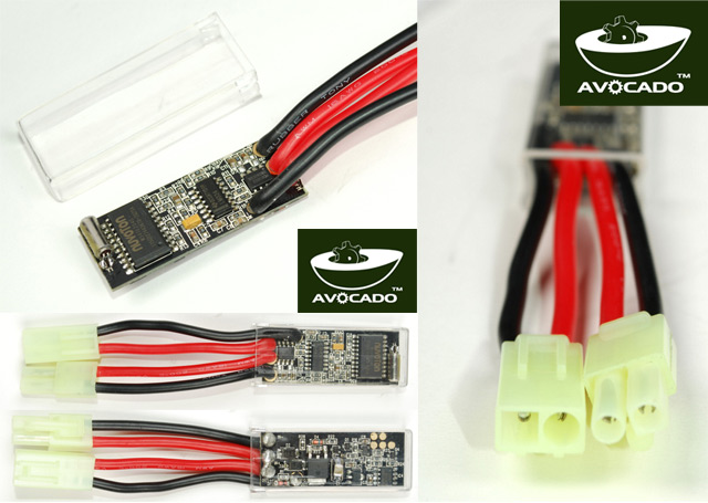 Avocado Burst Avocado Programmable MOSFET Device For AEG (1~12 / 30 Rounds)