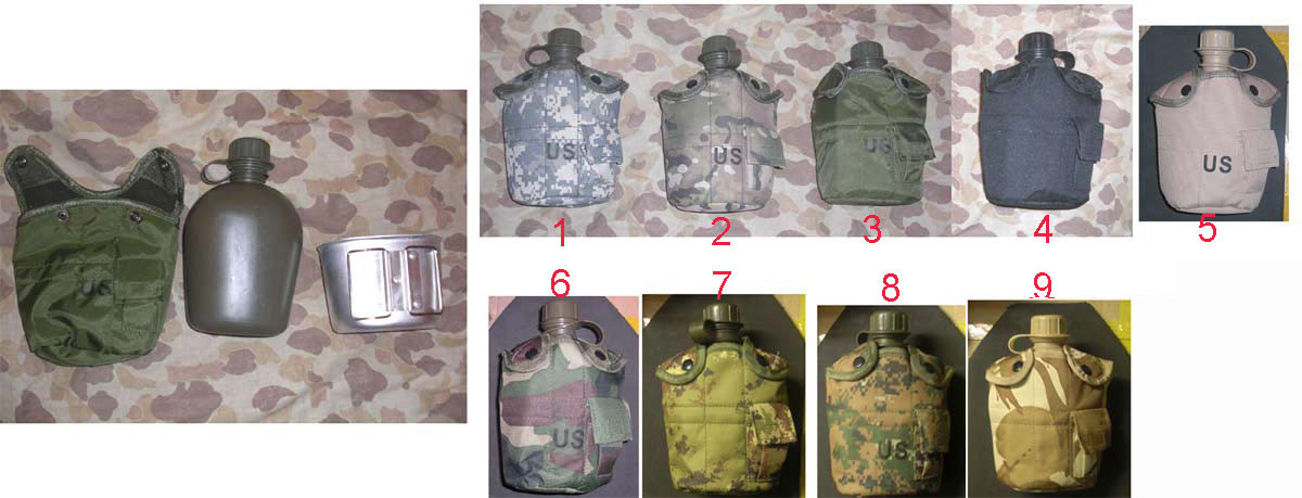 1L Canteen + Cup + Cover